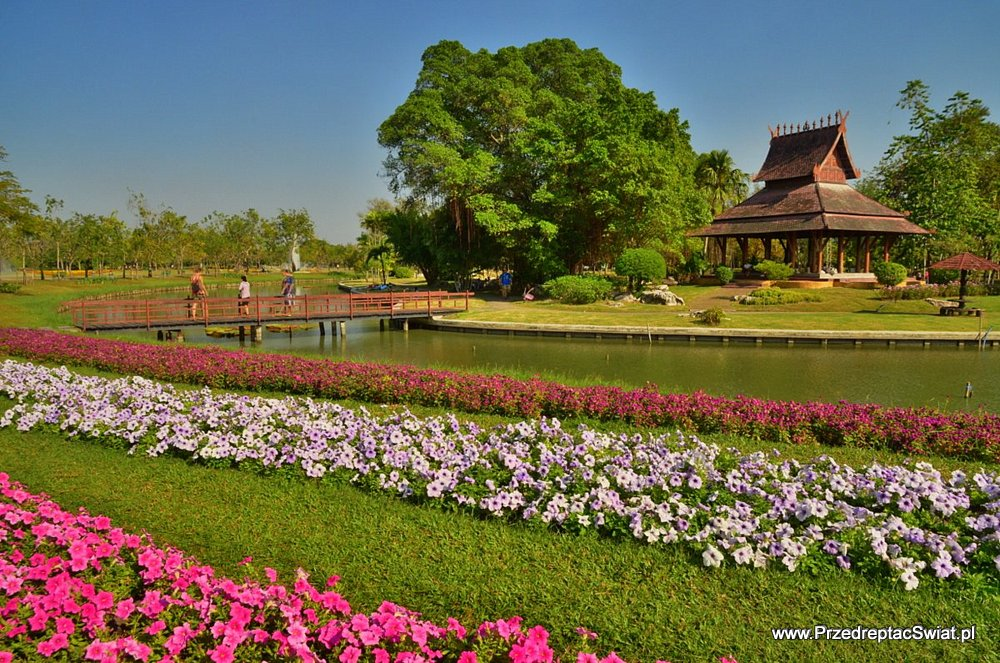 co warto zobaczyć w Bangkoku - Park King Rama IX