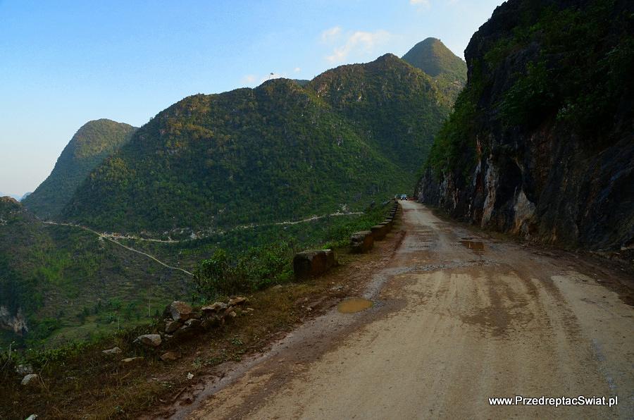 Transport w Wietnamie - góry na północy