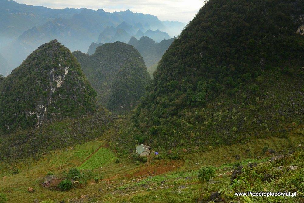 góry w Wietnamie - Ma Pi Leng
