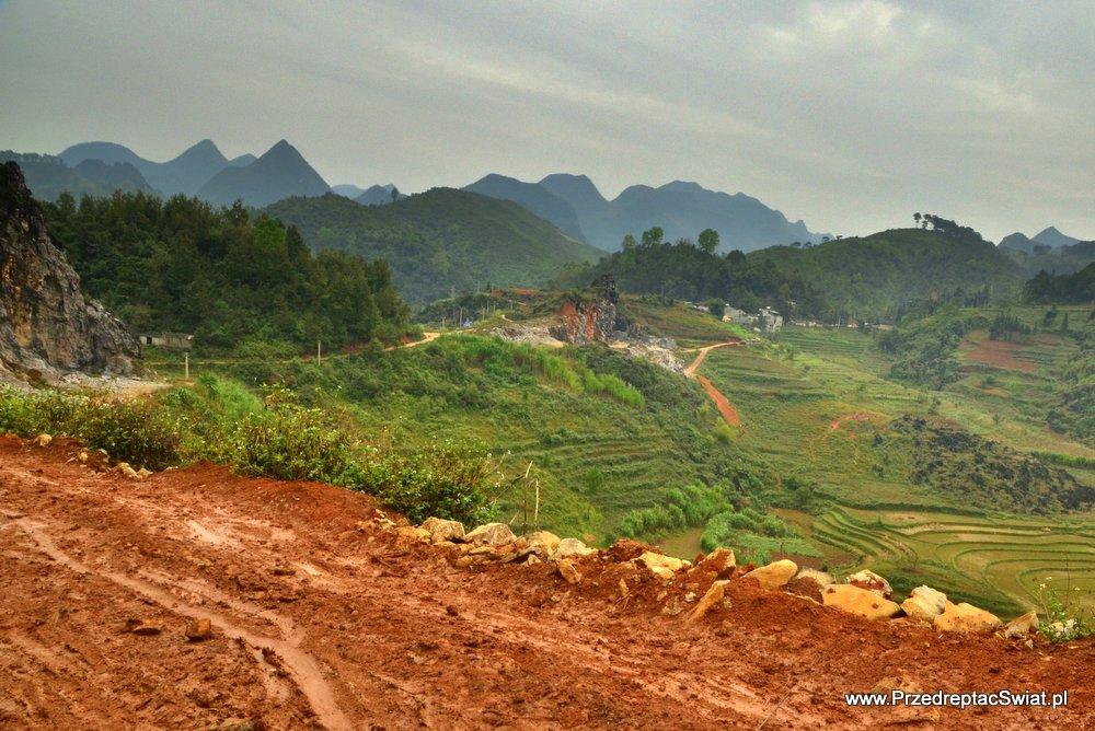 Góry w Wietnamie - Ha Giang