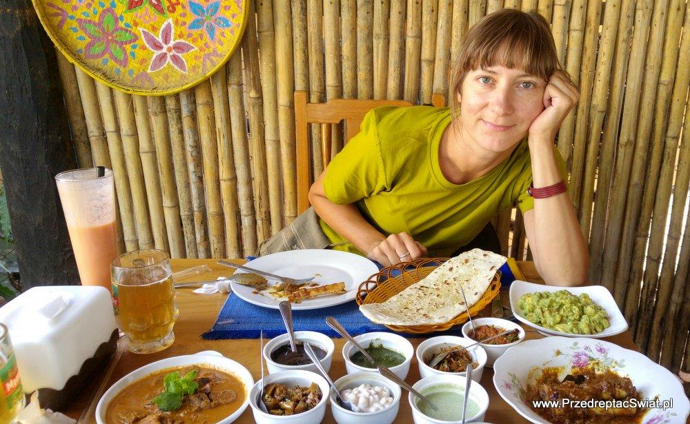 Birma - ceny jedzenia w restauracji