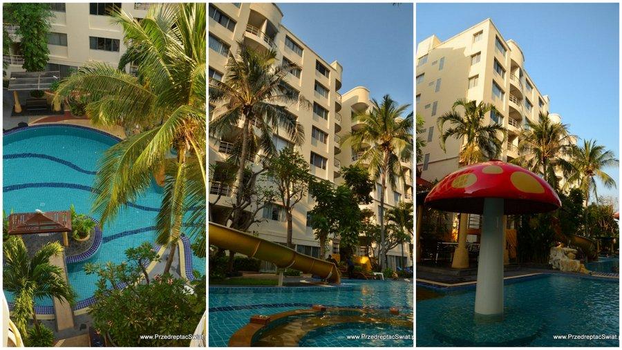 apartament z basenem w Tajlandii - Hua Hin