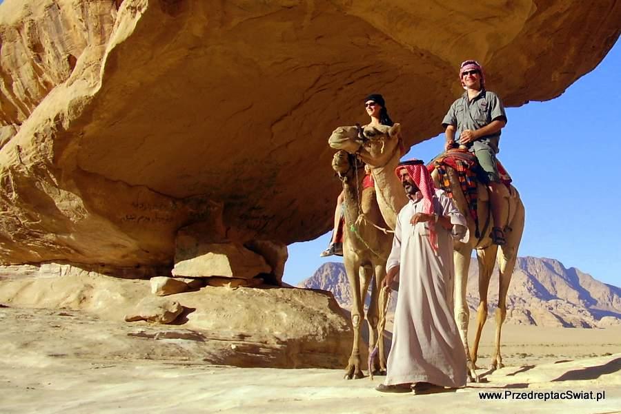 Jordania - pustynia Wadi Ram