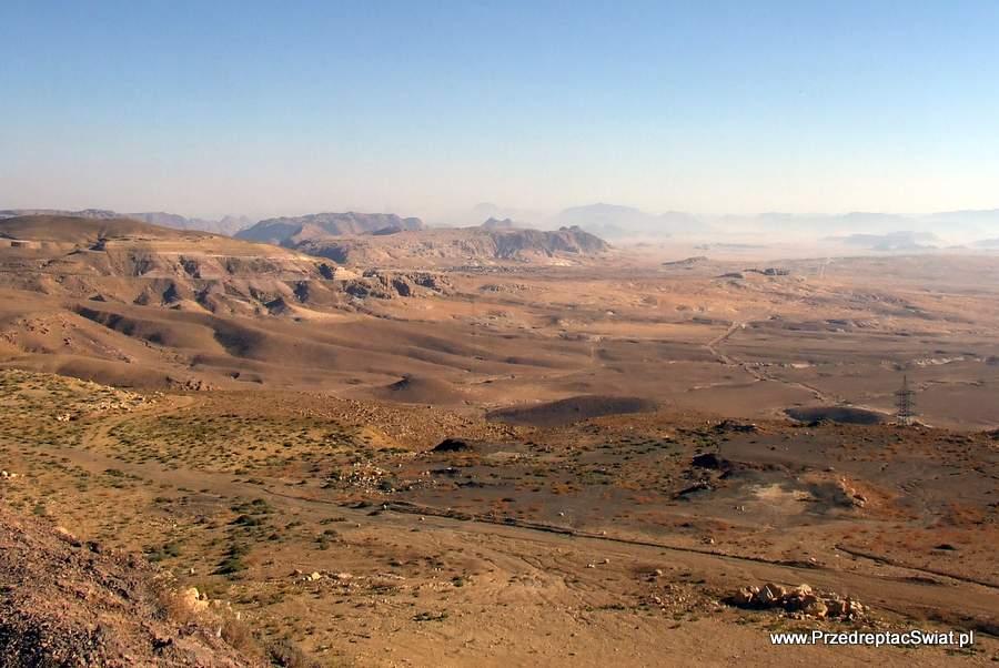 Jordańskie krajobrazy