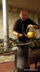 Kuchnia jordańska - herbata z szałwią