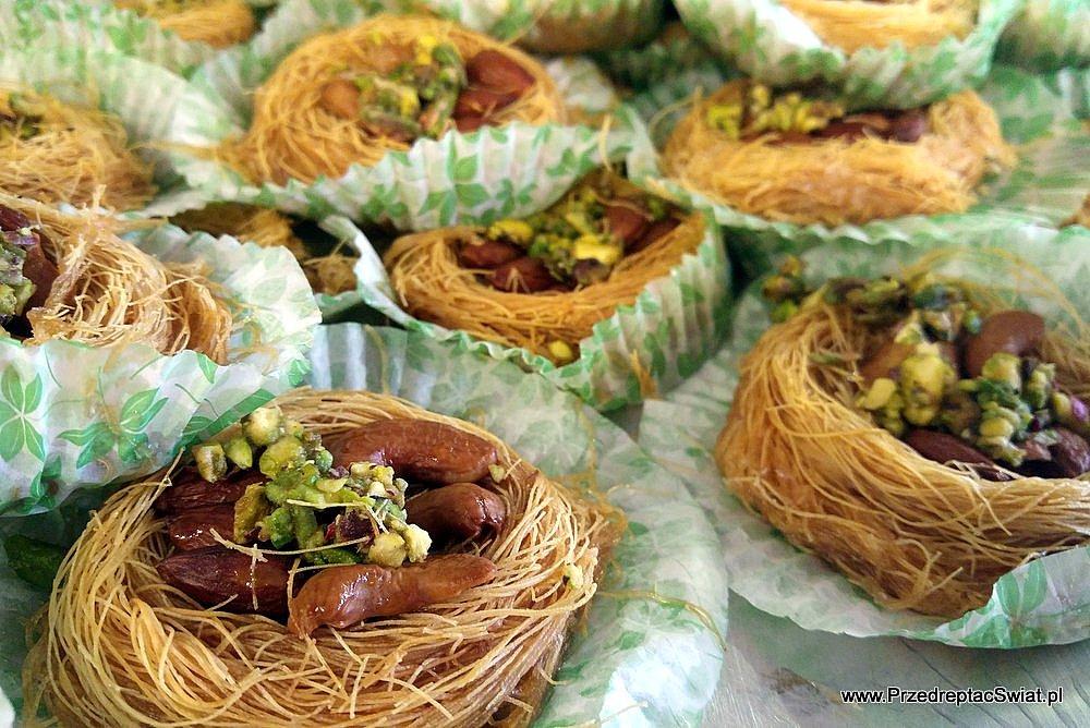 Jedzenie w Jordanii - baklawa i inne słodkości