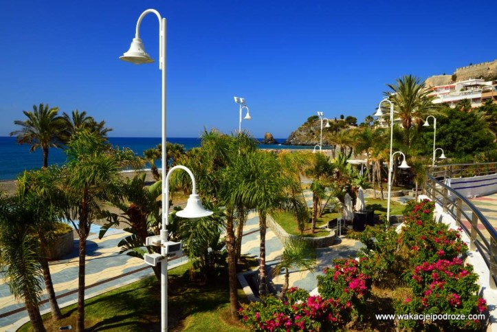 Almunecar - miasteczko w Andaluzji