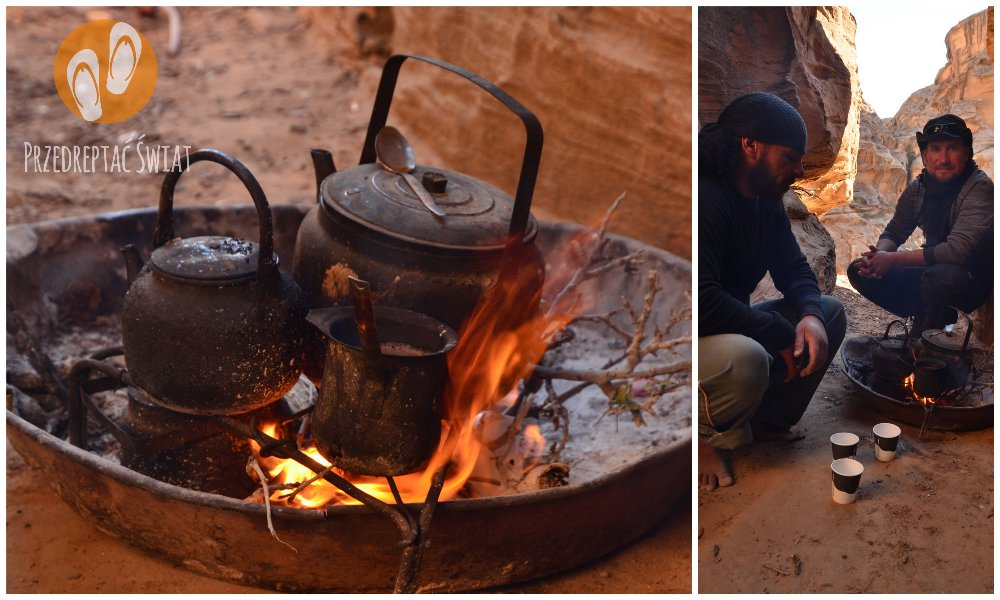 Jordania - herbata na ognisku