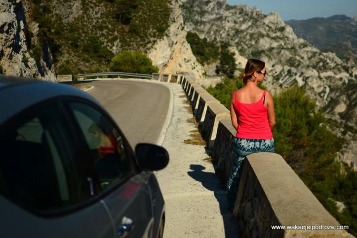 Samochodowa trasa widokowa w Andaluzji