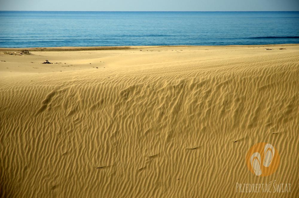 Plaża Patara Beach - najpiękniejsza plaża na Riwierze Tureckiej