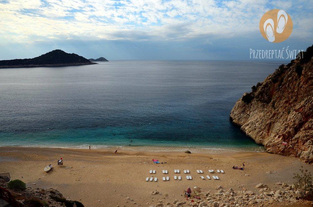 Riwiera Turecka - plaża Kaputas