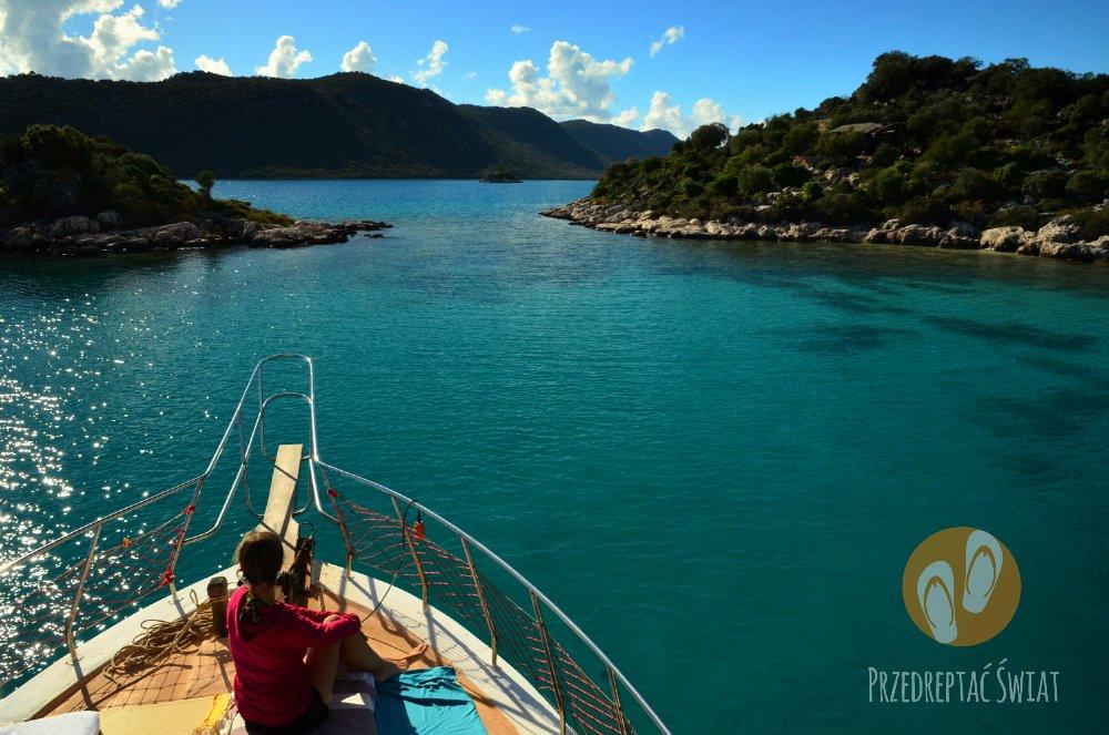 Rejs łodzią Kekova Boat Tour