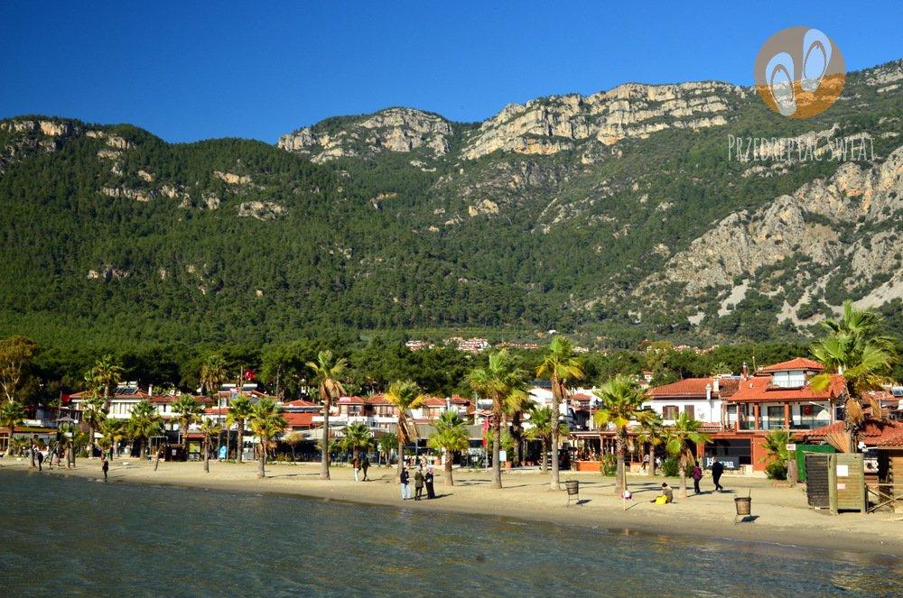 Spokojne miejsce na wakacje w Turcji - Akyaka - Plaża